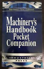 Machinery's Handbook Pocket Edition