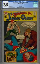 SUPERMAN'S PAL, JIMMY OLSEN #120 - CGC 7.0 - 2105224008