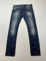 DIESEL THANAZ SLIM SKINNY Jeans - W29 L32 - Navy - Great Condition - Men's