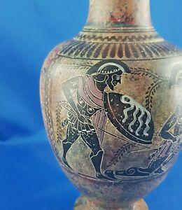 Amphore Krieger Griechenland Museum Replika Greece  Keramik