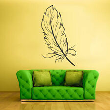 Wall Decal Vinyl Sticker Decals Bird Feather Writer Symbol (Z1349)