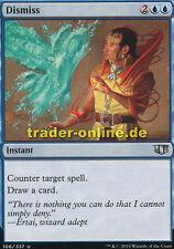 2x dismiss (rejet) Commander 2014 Magic