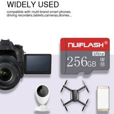 HOT! 256GB TF-Flash Memory Cards SD-Card U3 C10 Card For Phone Tablets Cameras