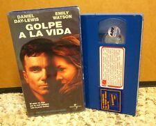 GOLPE A LA VIDA Spanish Edition VHS Daniel Day-Lewis & Emily Watson BOXER