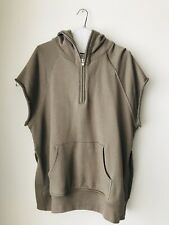 Fear of God Third Collection Sleeveless Hoodie Size Large Beige/Grey