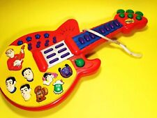 Tested Working Rare Wiggles Play Along Musical Guitar Spin Masters 2003 Ds#824