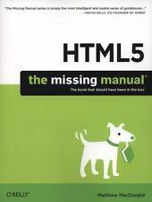 HTML5 by Matthew MacDonald (2011, Paperback)