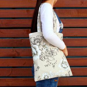 Retro Mummy Bag Multi-function Women Bag Cotton Linen Shoulder Bag Handbag DP
