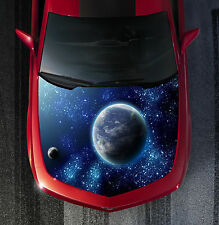 H123 GALAXY Hood Wrap Wraps Decal Sticker Tint Vinyl Image Graphic