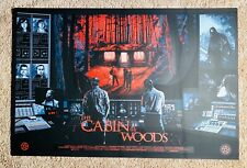 Nathan Chesshir THE CABIN IN THE WOODS Art Print RARE (OOP) #6/45
