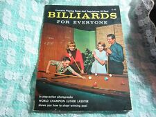 Vintage 1965 Billiards for Everyone by Luther Lassiter World Champion Pool Rules