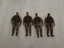 BBI BlueBox Elite Force Soldier Lot of 4 EUC