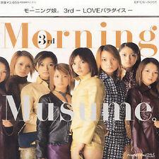 MORNING MUSUME - 3RD LOVE PARADISE NEW CD