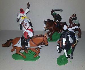 ARABS MOUNTED set DSG Plastic Toy Soldiers ARGENTINA Britains Dessert Wars