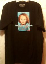 Chucky Childs Play T Shirt Friends Til The End Universal City Studios Size XL
