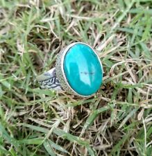 Blue Howlite Ring Sterling Silver Blue Stone Ring Friendship Ring Hippie Ring