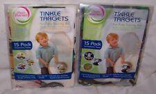 2 Tinkle Targets Flushable Potty Training Aid Construction & Transportation