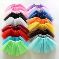 NEW Skirt Mini Tutu Skirt Pettiskirt Ballet Skirt Dance Dress for Women Lady Kid