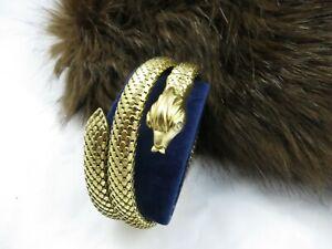 Bracelet Serpent or 18 carats