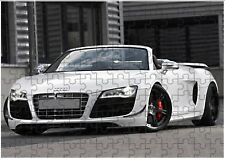 Audi R8 Sports Car A4 JIGSAW Puzzle Birthday Christmas (Can Be Personalised)