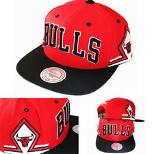 Mitchell & Ness Chicago Bulls 2Tone Snapback Hat Team Jersey Diamond Pattern Cap