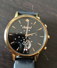 Kate Spade Smartwatch Hybrid Metro KST23100 Leather Watch As Is Not Running
