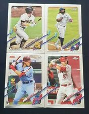 2021 Topps Chrome Base Cards 1-220 with Veterans and Rookies You Pick