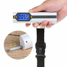 50kg/10g Portable Hand Held Digital LCD Electronic Luggage Balance Scale Weight✿