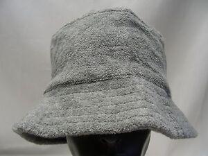 P LOGO - GRAY - SIZE S-XL (8-20) - BUCKET HAT SUN CAP!