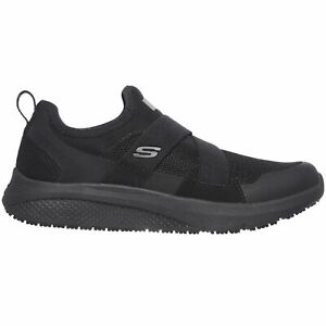 Skechers Women's 108008 Elloree Slip Resistant Slip On Work Shoes