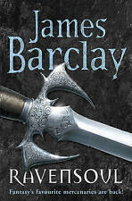 New, Ravensoul (Legends of the Raven 4), Barclay, James, Book