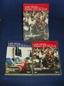Les Yeux dans les bleus - Vol.1 [+ DVD Bonus Tignes c'est Foot] et Vol. 2