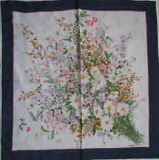 -Superbe Foulard  MANTERO 100% soie  TBEG  vintage scarf