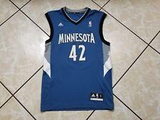 Vintage Minnesota Timberwolves Basketball Jersey KEVIN LOVE Men's Small Blue