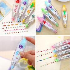 Cute 4 Pattern Decorative Correction Tape Roller DIY Gift Card Random Color