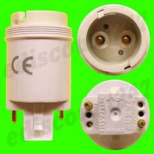 CE Certified G24 a BC B22 2 pin Lampadina Lampada SOCKET Adattatore conduttore UK Venditore
