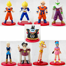 Set of 9 Dragon Ball Z Mini Figure Gokou Vegeta Bulma #18 etc JAPAN ANIME MANGA