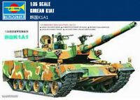 Trumpeter 00331 1/35 Korean K1A1 MBT Assembly Plastic Model Armor Kit