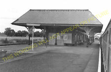 Leuchars Junction Railway Station Photo. Dundee to Guard Bridge & Dairsie. (4)
