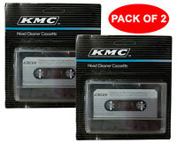 LOT OF 2 NEW AUDIO TAPE DRY HEAD CLEANER KIT DECK HOME CAR CASSETTE PLAYER