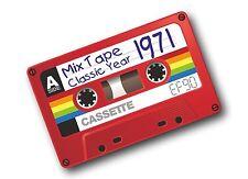Retro Vecchia Scuola CASSETTE ef90 CASSETTA 1971 Classic Auto Adesivo Vinile Decalcomania