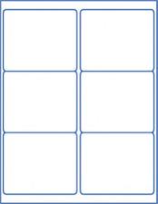 self adhesive blank labels white stickers storage files box tote peel & stick
