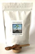 Raw Power Protein (Chocolate) 16oz, Premium Protein/Superfood Powder Blend