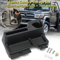 🔥 Centre Console Storage Box For Toyota Land Cruiser LC70 71 76 77 79 FJ70 FJ79
