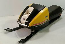 Vintage 1970's Normatt Ski-Doo E-2033 Battery Operated Toy Snowmobile Works!