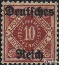 Duitse Rijk D53 getest gestempeld 1920 Württemberg Issue