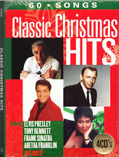 Classic Christmas Hits 4 CD Box Set 60 Original Songs Greatest Best Hits 60s 70s