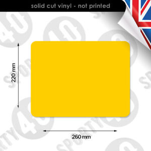ACU Race Number Background Plain Rectangle NO NUMBER Front Side & Sets 2215-0120