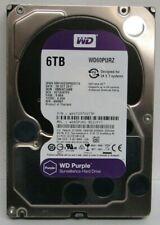 """WD Purple 6TB HDD 5400RPM SATAlll 3.5"""" Surveillance Internal Hard Drive WD60PURZ"""