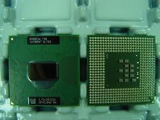 Lotto stock di 10 CPU Intel Centrino Pentium M 740 processore SL7SA 1.73/2M/533